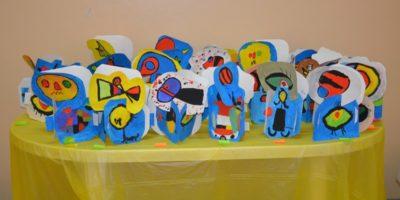 Corso di disegno e pittura per bambini a Taranto – ACCENNI DI SCULTURA