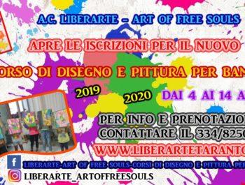IV CORSO DI DISEGNO E PITTURA – LET THE ART AND CREATIVITY START !!!!