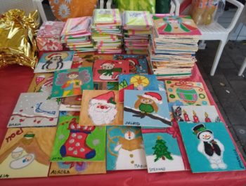 Un Natale di solidarietà e di Premi per il nostro Corso di pittura